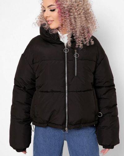 Черная демисезонная куртка Carica&x-woyz