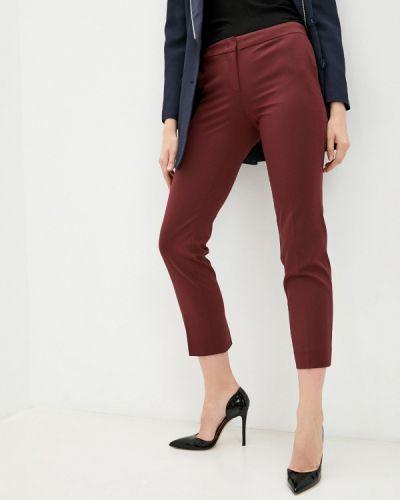 Классические брюки - бордовые Twinset Milano
