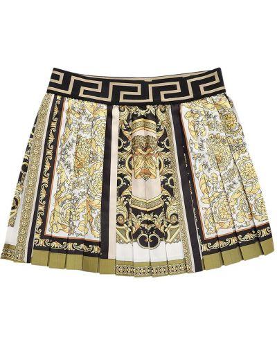 Spódnica z printem Versace