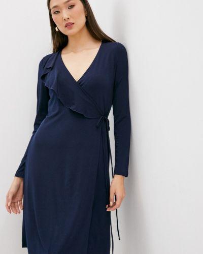 Повседневное синее платье French Connection