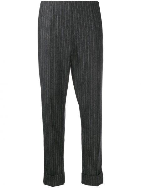 Укороченные брюки в полоску брюки-хулиганы Antonio Marras