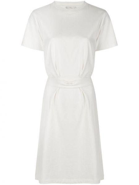 Платье мини трапеция с карманами Vince.