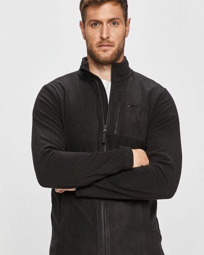 Czarna bluza z kapturem 4f