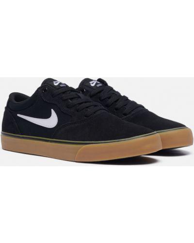 Черные кроссовки со вставками Nike Sb