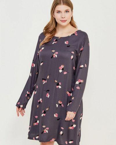 Серое платье весеннее Junarose