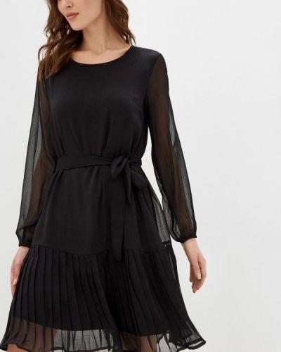 Прямое черное платье Mama.licious