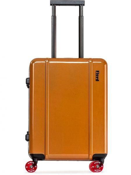 Pomarańczowa walizka Floyd