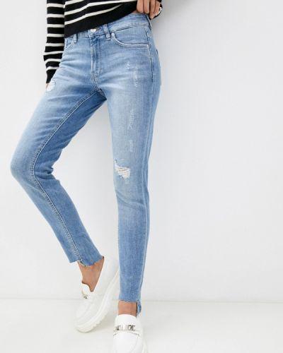 Голубые джинсы осенние Q/s Designed By