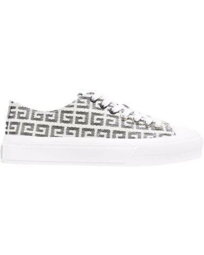 Sneakersy - białe Givenchy