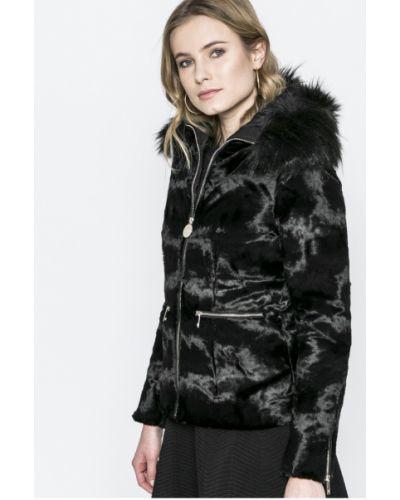Утепленная куртка с карманами черная Marciano Guess