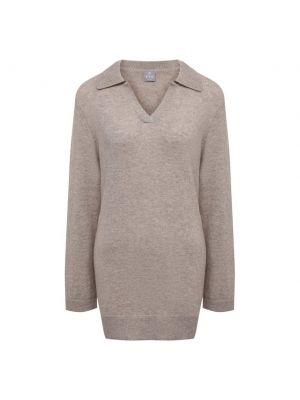 Трикотажный коричневый пуловер Ftc