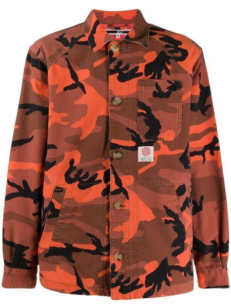 Klasyczna koszula - pomarańczowa Mcq Alexander Mcqueen