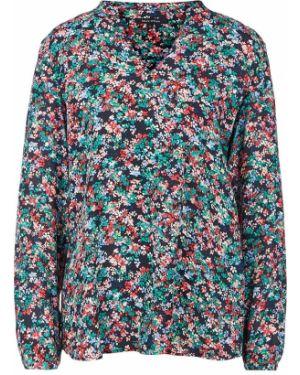 Блузка с V-образным вырезом из вискозы Marc O`polo