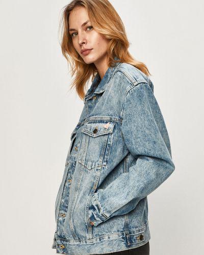 Укороченные джинсы mom с манжетами Guess Jeans