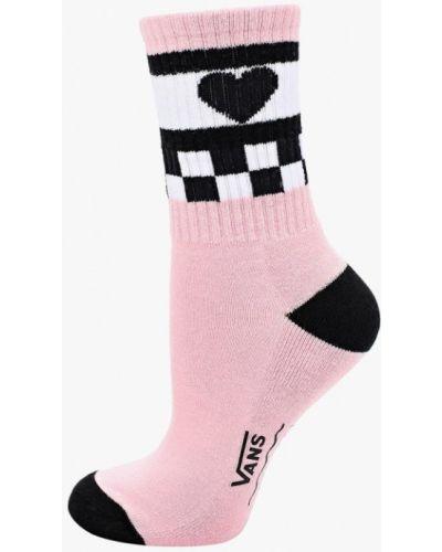 Розовые носки Vans