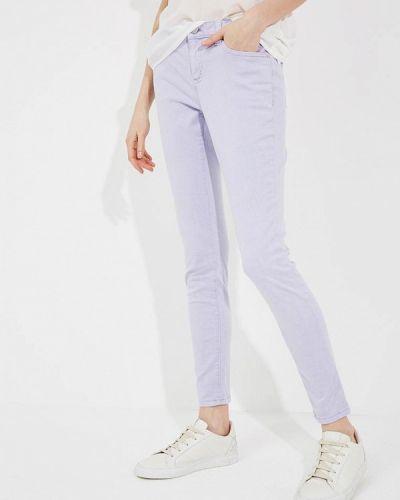 Фиолетовые зауженные брюки Michael Michael Kors
