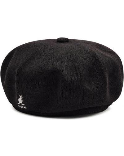 Czarny beret Kangol