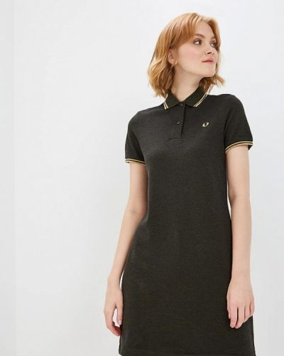 Платье хаки Fred Perry