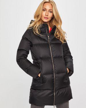 Прямая черная стеганая куртка Colmar
