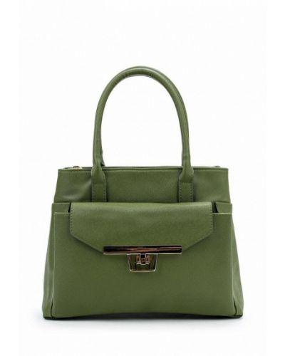 Зеленая кожаный сумка медведково