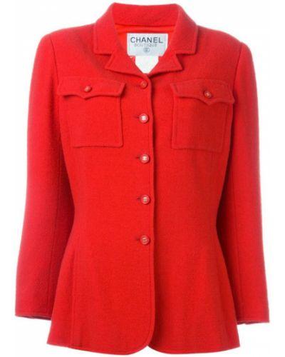 Пиджак приталенный винтажный Chanel Vintage