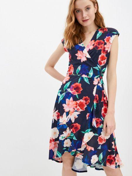 Платье с запахом весеннее Wallis