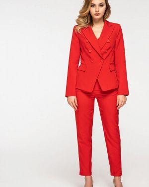 Брючный костюм красный Itelle