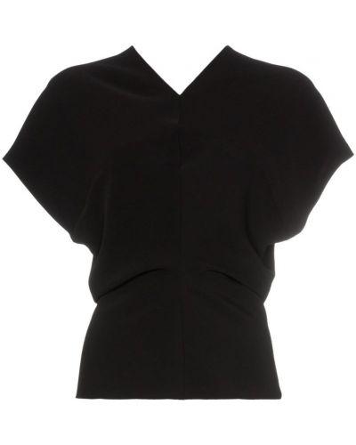 Блузка с декольте Poiret