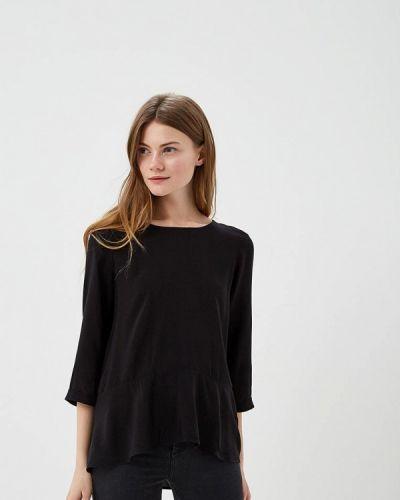 Черная блузка с рюшами Vero Moda