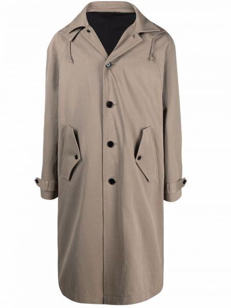 Płaszcz puchowy z kapturem - beżowy Filippa K