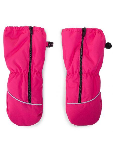 Różowe rękawiczki Reima