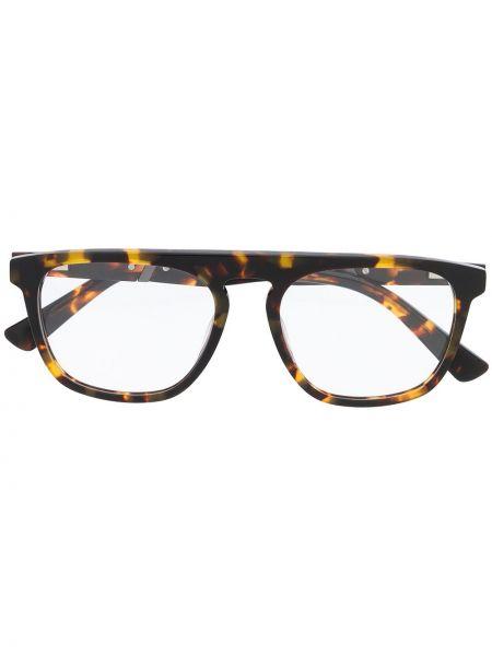 Серебряные очки для зрения квадратные Diesel