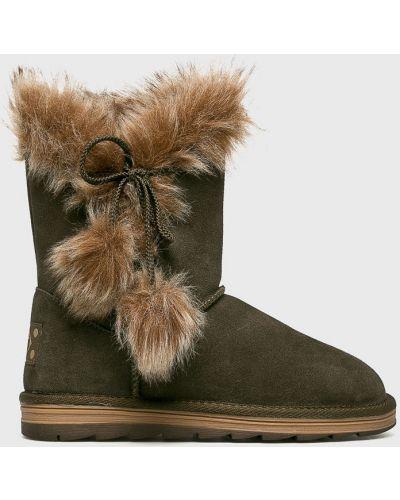 Зимние ботинки зимние замшевые Marco Tozzi