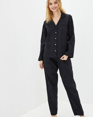 Черная пижама Nora Rose