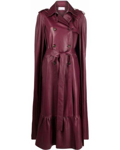 Fioletowa narzutka bawełniana Red Valentino