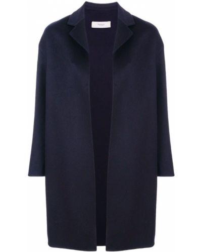Длинное пальто однобортное облегающее Pringle Of Scotland