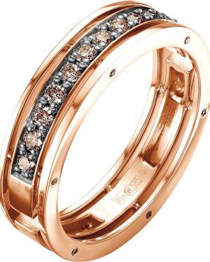 Кольцо из золота черный Vesna Jewelry