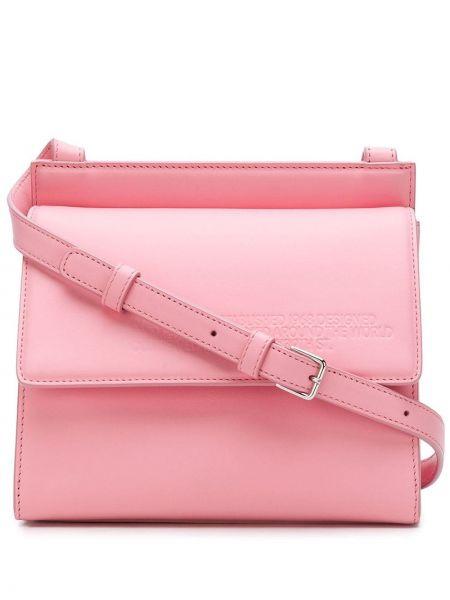 Różowy body skórzany Calvin Klein 205w39nyc