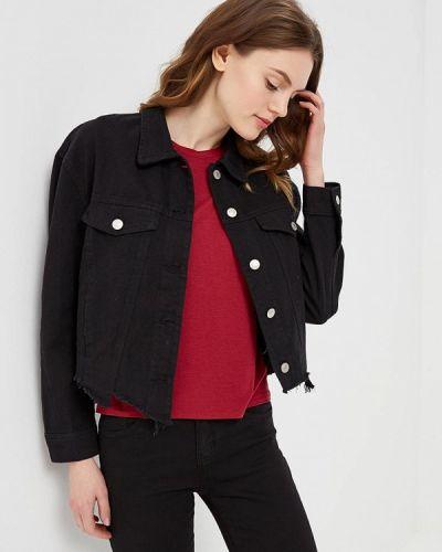 Черная джинсовая куртка B.style