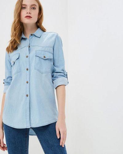 Джинсовая рубашка - голубая Marissimo