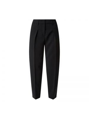 Czarne spodnie materiałowe Luisa Cerano