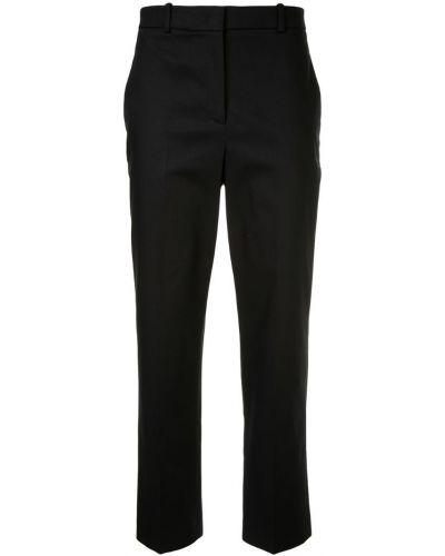 Классические брюки с карманами с поясом Jil Sander Navy