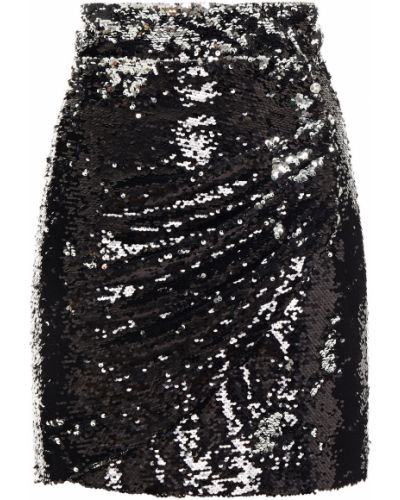Spódniczka mini tiulowa - czarna Dundas