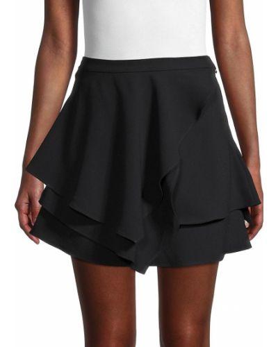 Черная асимметричная юбка Iro