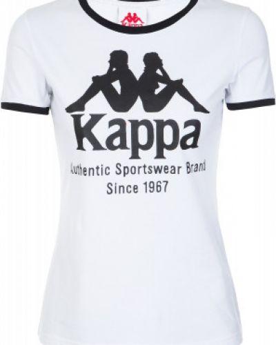 Спортивная футболка белая Kappa