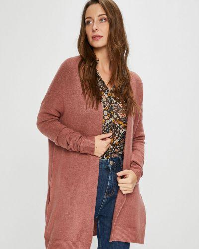 Акриловый фиолетовый длинный свитер Review