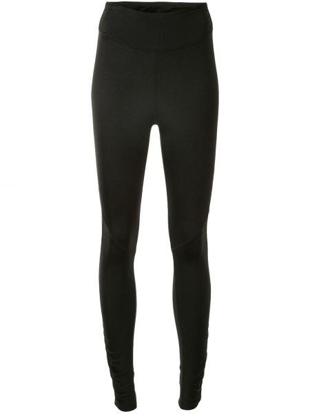 Нейлоновые черные спортивные брюки с поясом с высокой посадкой Alala