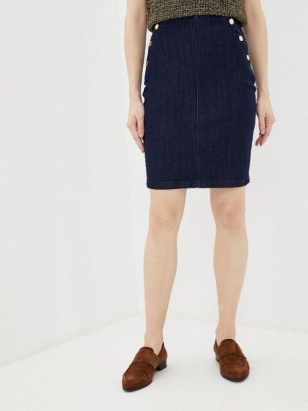 Джинсовое платье синее весеннее Guess Jeans
