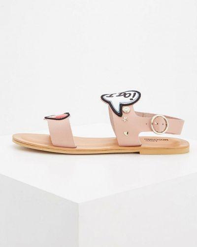Розовые сандалии Love Moschino