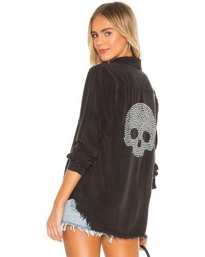 Джинсовая рубашка - черная Lauren Moshi